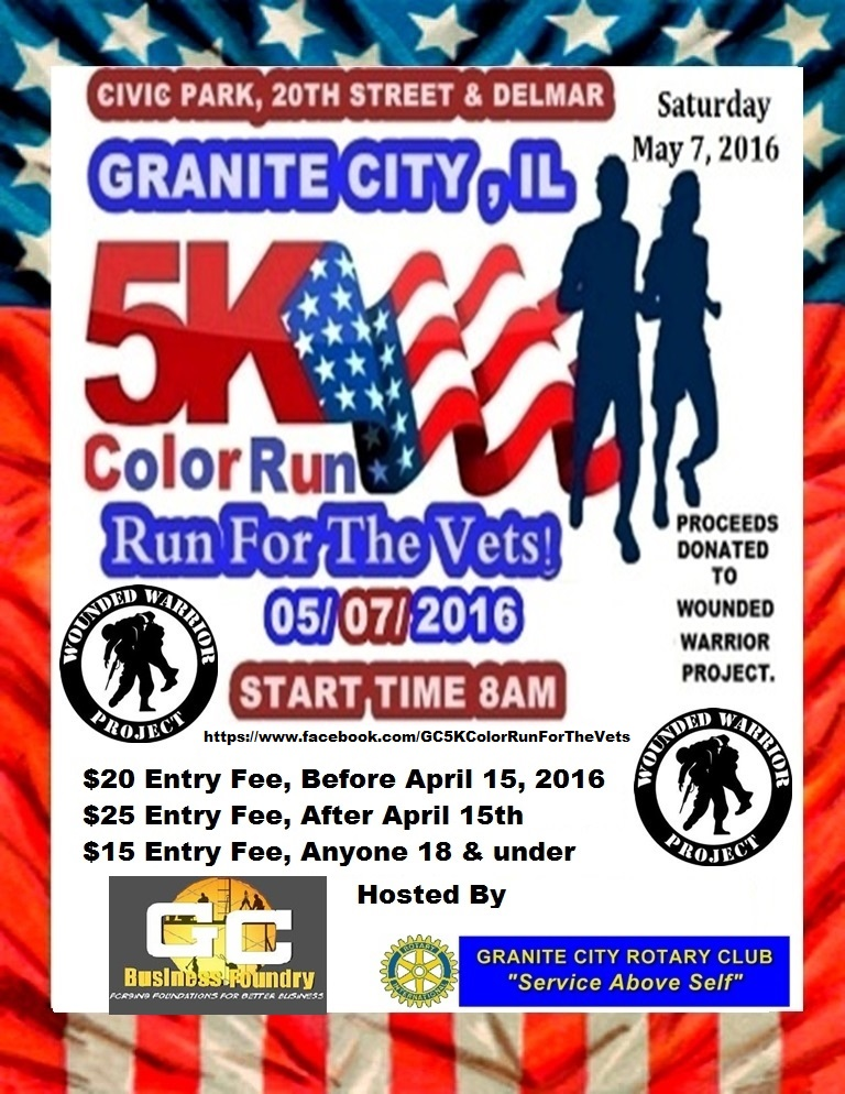5k Run For The Vets Community Charity Event